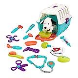 Battat – Tierarztkoffer mit Dalmatiner –Tierarzt Hundekäfig Spielzeug mit Transportkäfig...