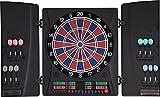 Dartona Elektronische Dartscheibe CB160 Cabinett   Dartscheibe elektronisch   Turnierscheibe mit 33 Spielen und über 160...