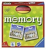 Ravensburger 26630 - Deutschland Memory, der Spieleklassiker quer durch Deutschland, Deutschlandreise, Merkspiel für 2-8 Spieler...