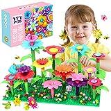 ATCRINICT Blumengarten Spielzeug für 3-6 Jährige Mädchen DIY Bouquet Sets für Kinder Blume Bausteine, Sandkasten Spielzeug...