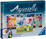 Ravensburger 29463 - Weltstädte - Aquarelle Maxi, 30 x 24 cm