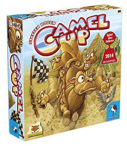 Pegasus Spiele 54541G - Camel Up 1st Edition (Spiel des Jahres 2014)