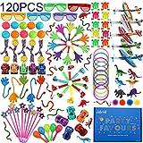 nicknack Party Gefälligkeiten für Kinder, 120 Stück Karneval Preise Spielzeug Bulk, Pinata Füller Spielzeug Sortiment für...