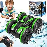 HOMOFY RC Cars Toy für 6-12 Jahre alte Jungen Amphibious 4WD Remote Control Auto Boot für Kinder 360°Roating Fahrzeug All...