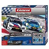 Carrera DIGITAL 132 DTM Furore Autorennbahn Set │ 2 ferngesteuerte Slotcars für drinnen │ Premium-Rennbahn im...