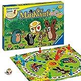 Ravensburger 21570 - Der Maulwurf und sein Lieblingsspiel - Mensch ärgere dich für Kinder,...