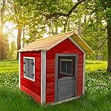 Home Deluxe - Spielhaus aus Holz für Kinder - umweltfreundliches Kinderspielhaus - Das kleine Schloss - 101 x 106 x 128 cm -...