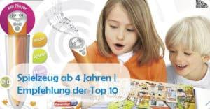 Kinderspielzeug ab 3 Jahren | Empfehlung der TOP 10 Spielsachen