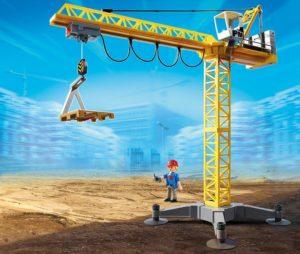 Playmobil Kran Baustelle