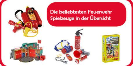 Feuerwehr Spielzeug Übersicht