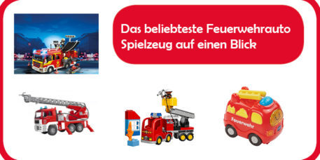 Feuerwehrauto Spielzeug Überblick