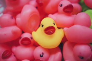 Die Einhorn Badeente macht allen Kindern Spaß