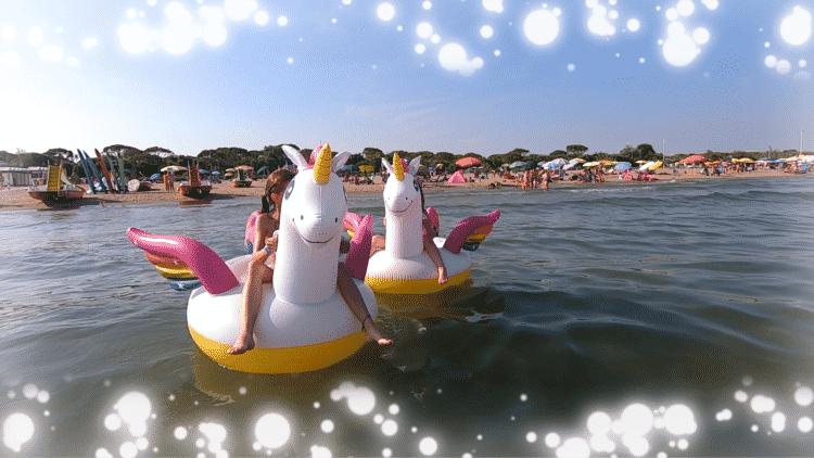 Einhorn Schwimmtiere