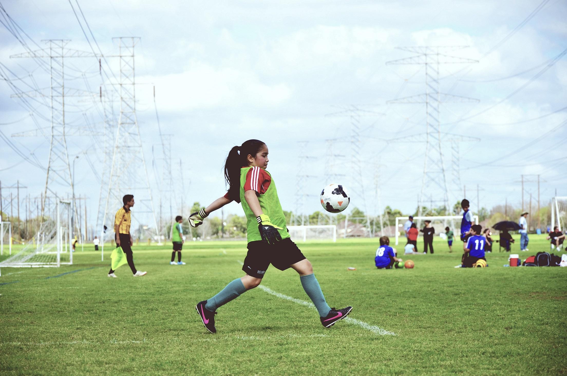 Kleine Fußballstars – Das Training mit den Minikickern