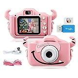 """GREPRO Kinder Kamera, 2.0""""Display Digitalkamera Kinder Geschenke für 4 5 6 8 7 9 10 Jahre mädchen und Jungen,1080P HD..."""