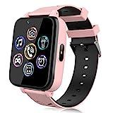 Smartwatch für Kinder, Uhr Telefon für Mädchen Jungen Touchscreen mit Musik Player, Spiel, Kamera, Taschenlampen, Wecker, Smart...