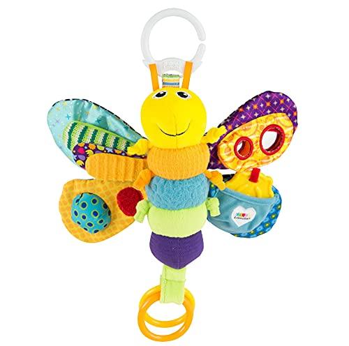 Lamaze LC27024 Baby Spielzeug 'Freddie, das Glühwürmchen' Clip & Go, Hochwertiges Kleinkindspielzeug, Greifling Anhänger zur...