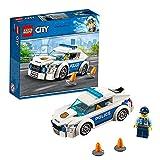 LEGO 60239 City Streifenwagen, Polizei-Spielzeug für Kinder ab 5 Jahre, Auto inklusive Minifigur für spannende Verfolgungsjagden