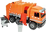 Lena 02059 - Starke Riesen Müllwagen Actros 3-Achser, ca. 64 cm, orange