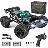 HAIBOXING Ferngesteuertes Auto, 2,4 GHz 1:18 Proportional 4WD 36+ km/h Hobby RC Auto Offroad Monster RC Truck, wasserdichte RC...