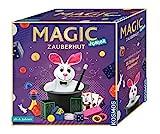 KOSMOS 680282 - Magic Zauberhut, Lerne einfach 35 Zaubertricks und Illusionen, Zauberkasten mit Zauberstab und vielen weiteren...