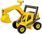 Lena 4211 EcoActives Bagger, Baustellenfahrzeug ca. 35 cm, robuster Schaufelbagger, natürlicher Holzgeruch durch ökologischen...