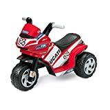 Peg Perego, Mini-Motorrad für Kleinkinder, Spielzeug-Motorrad, Modell: Ducati Ducati