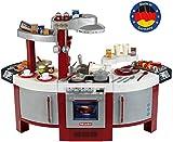 Theo Klein 9125 Miele Küche No. 1 I Beidseitig bespielbare Kinder-Küche I Kochplatte mit Sound und zahlreichem Zubehör I Maße:...