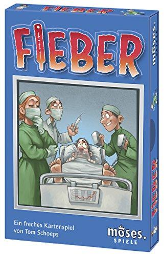 moses. 90287 - Fieber | Das freche Kartenspiel mit Ärger-Faktor