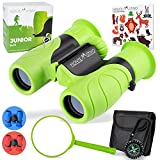 Monte Stivo® Junior | Vergleichssieger Fernglas für Kinder 8x21 mit Lupe & Kompass | Geschenk-Set Spielzeug für Junge Mädchen...