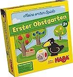 Haba 4655 - Meine ersten Spiele Erster Obstgarten, unterhaltsames Brettspiel rund um Farben und Formen ab 2 Jahren, Holzspielzeug...