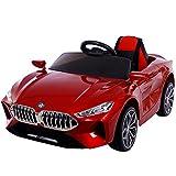 TOL MY Elektro Spielzeugauto Große Kinder, Kinder Elektroauto Vierräder können ferngesteuertes Auto 1-3 Jahre alt 4-5 Schaukel...