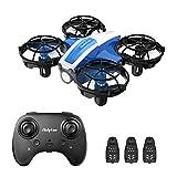 Holyton Mini Drohne HS330 für Kinder RC Quadrocopter ferngesteuert mit 3 Akkus Lange Flugzeit,Handsensor,Höhenhaltung,Kopflos...