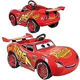 FEBER Famosa 800011147 - Cars Flash McQueen - Disney Elektro-Spielzeugauto, für Kinder von 3 bis 6 Jahren, 6V, rot