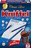 Schmidt Spiele 49203 Kniffel, Classic Line, mit großem Block, mit original Kniffelbecher