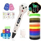 Dikale 3D Stifte für Kinder mit PLA Filament 12 Farben 【Ursprünglicher Entwurf】 PLA Farben 120 Fuß und 250 Schablone eBook...