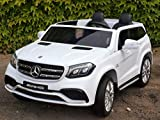 Allrad f 2 Kinder XXL Kinderelektroauto kinderauto Mercedes GLS 63 4x4 gefedert Zweisitzer Kinderelektrofahrzeug 12V Jeep...