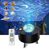 LED Sternenhimmel Projektor, Galaxy Projector Light mit Bluetooth Timer Fernbedienung Musikspieler, Sternenlicht Projektor...