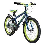 BIKESTAR Kinderfahrrad 20 Zoll für Mädchen und Jungen ab 6 Jahre | 20er Kinderrad Mountainbike | Fahrrad für Kinder Blau &...