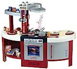 Theo Klein 9155 Miele Küche Gourmet International I Spielküche inkl. Herdplatte mit batteriebetriebenem Soundmodul, Ofen,...