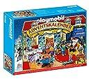 PLAYMOBIL Adventskalender 70188 Weihnachten im Spielwarengeschäft mit liebevollen Figuren und Zubehörteilen hinter jedem...
