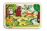Janod Chunky Holzfiguren-Puzzle 7 Teile