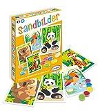 Sablimage 3980500 Bastel-Set Sandbilder Bastelset für Kinder, Motiv Bedrohte Tierarten, Kreativset, DIY
