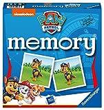 Ravensburger - 20743 Paw Patrol Memory, der Spieleklassiker für alle Fans der TV-Serie Paw Patrol, Merkspiel für 2-8 Spieler ab...