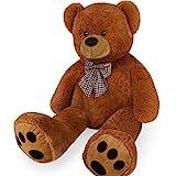 Deuba Riesen Teddy Bär XL-XXXL Teddybär 100-170cm samtig weich Plüsch Kuscheltier Plüschbär Farbwahl