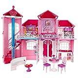 Mattel BJP34 - Barbie Traumhaus mit viel Zubehör