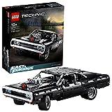 LEGO 42111 Technic Fast & Furious Dom's Dodge Charger Rennwagen Modell für Kinder und Erwachsene, ikonisches Bauset für Sammler