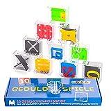 Magicat Premium Geduldspiele Set, 10 Knobelspiele, Geschenk für Kindergeburtstag, Mini Spiele, Mitgebsel nach einer Kinderparty