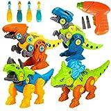 Spielzeug 3 4 5 6 Jahre Junge,Dinosaurier Spielzeug ab 3 4 5 6 Jahre Kinder Jungen Geschenke Bausteine Konstruktionsspielzeug...