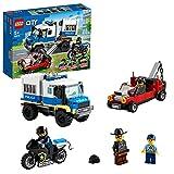 LEGO 60276 City Polizei Gefangenentransporter, Spielzeug-Set mit Motorrad und LKW, Erweiterungsset zur Polizeistation, für Kinder...